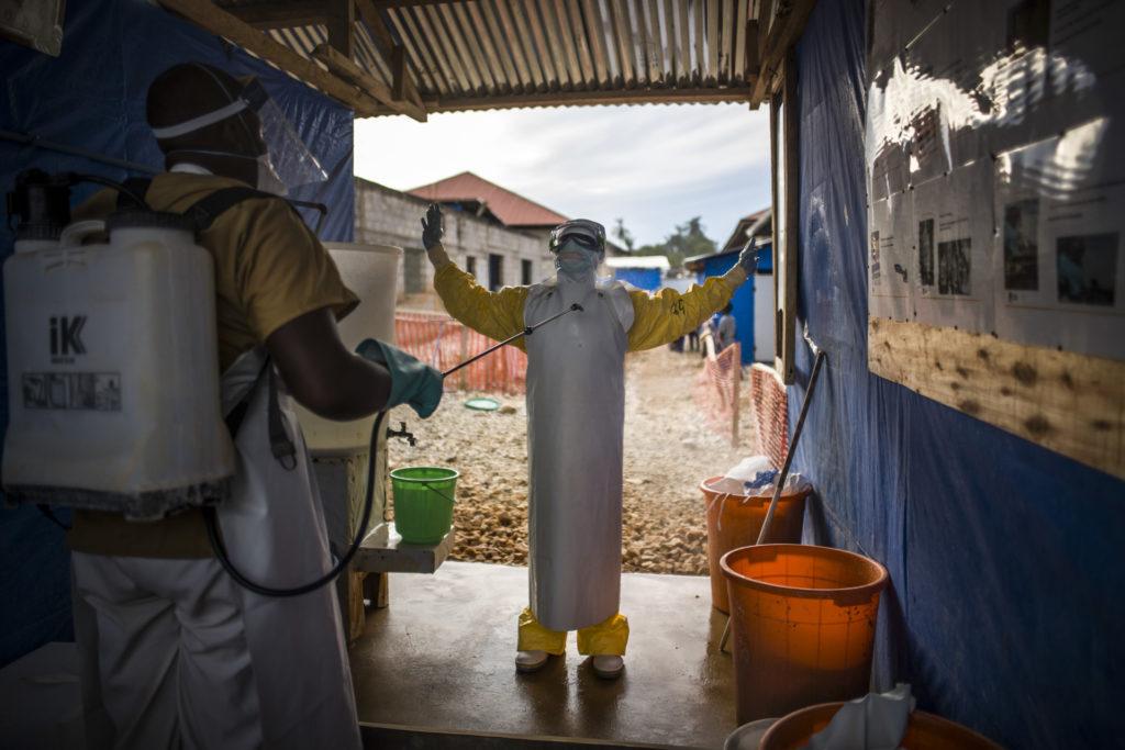 DRC, LIFE UNDER EBOLA