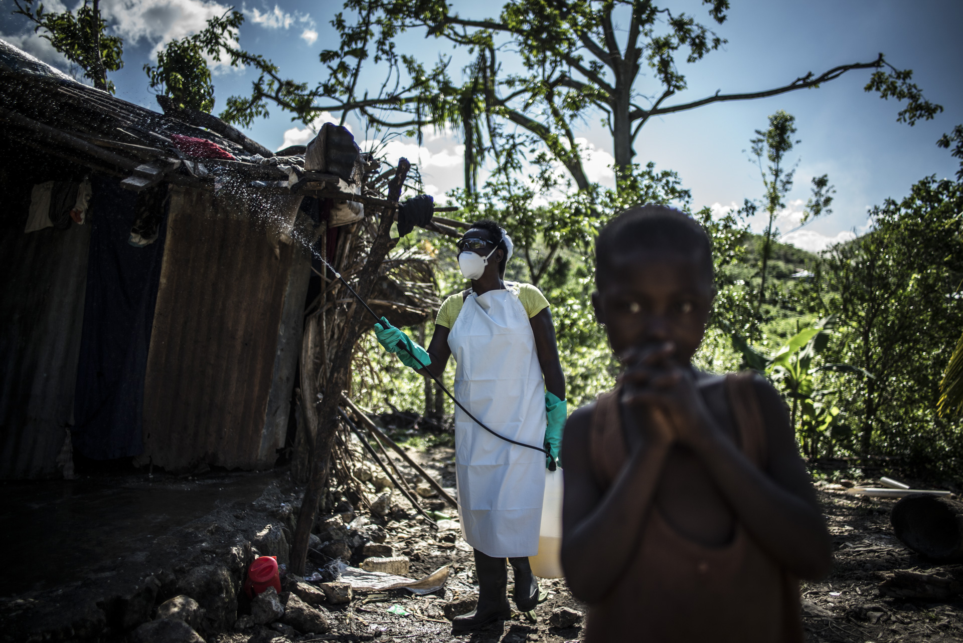 HAITI, THE FORGOTTEN CHOLERA OUTBREAK